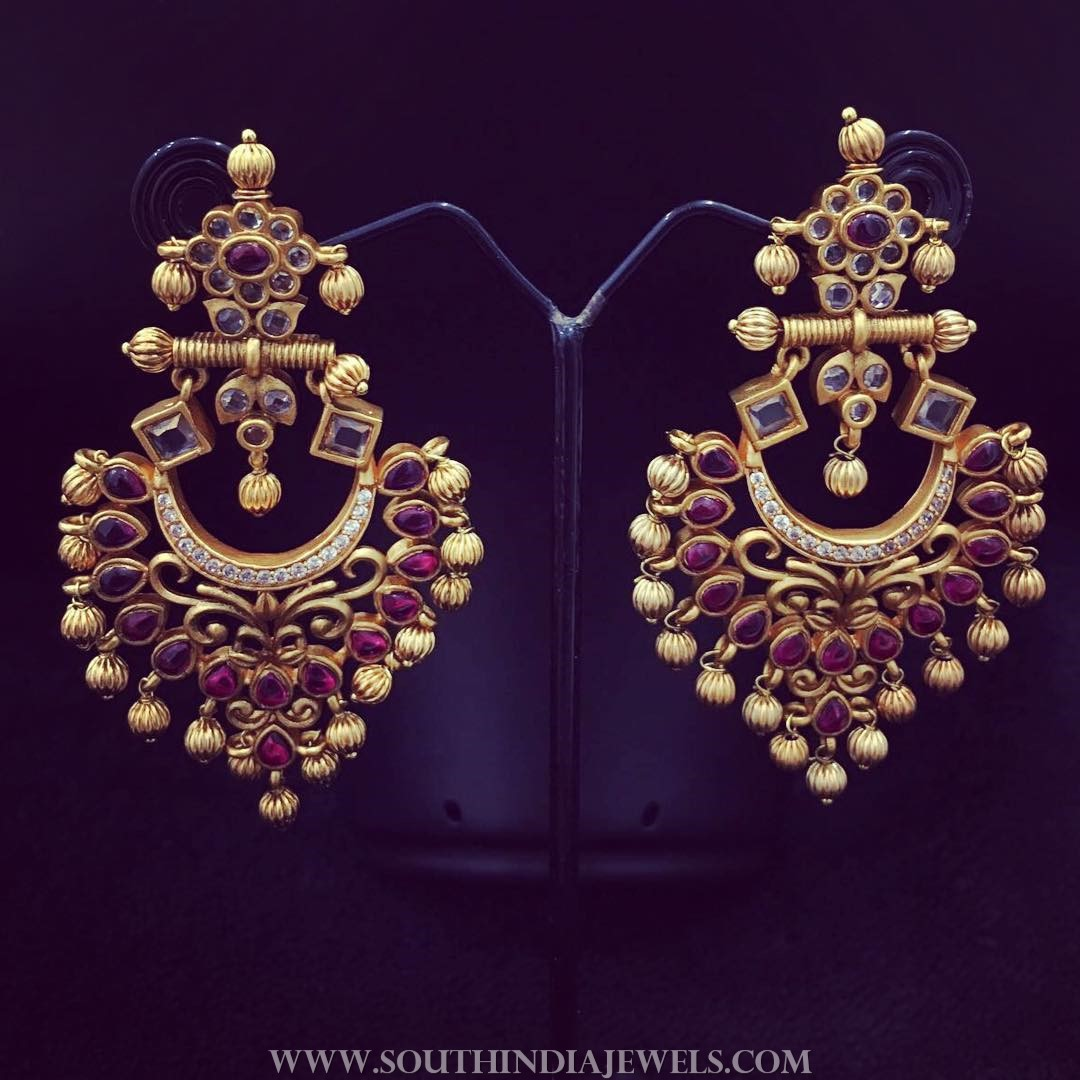 Ruby Earrings From Accessory Villa