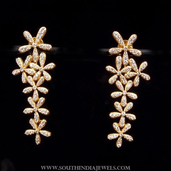 Pretty Diamond Ear Stud Design