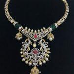 Diamond Peacock Necklace From SBJ