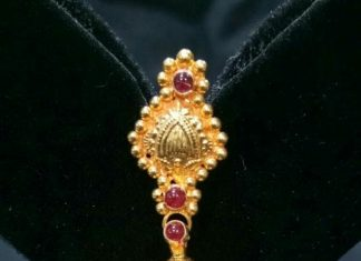 Gold Jhumki From Sri Balaji Jewellers