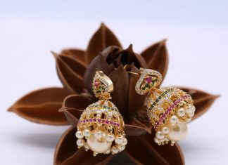Gold Plated Jhumka From Kimi Girl