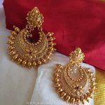 Plain Chandbali From Vasah