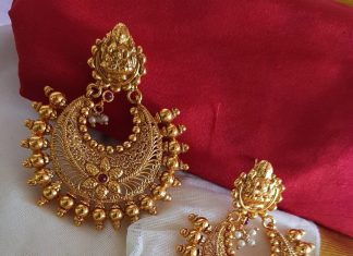 Plain Chandbali From Vasah