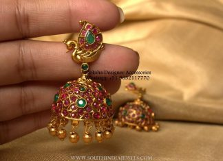 Ruby Jhumka From Moksha
