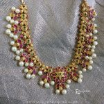 Imitation Ruby Necklace From Anicha