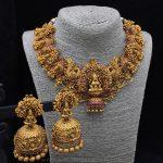 Bold Bridal Temple Necklace Set