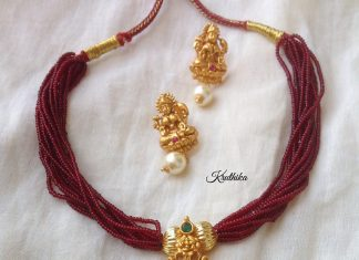 Temple Attigai From Kruthika Jewellery