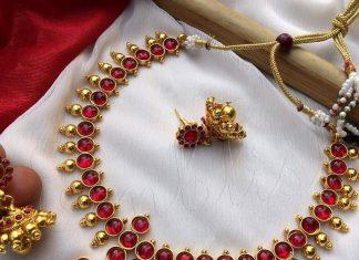 Antique Ruby Attigai From Emblish