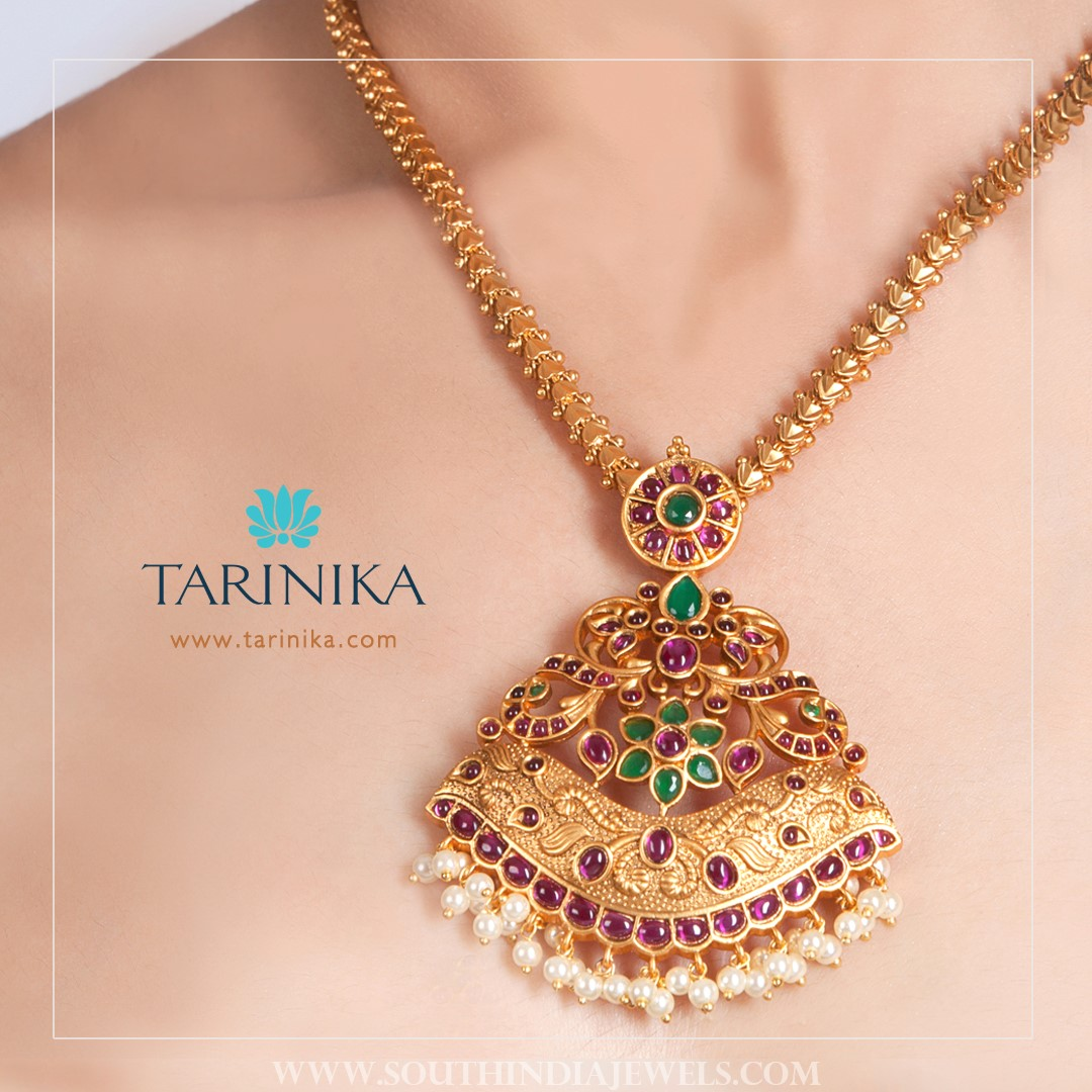 Antique Attigai Necklace From Tarinika