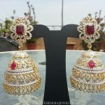 Diamond Jhumka From Manjula Jewel