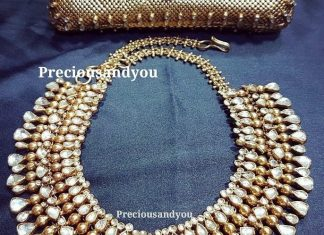 Gold Plated Kundan Choker From Precious And You