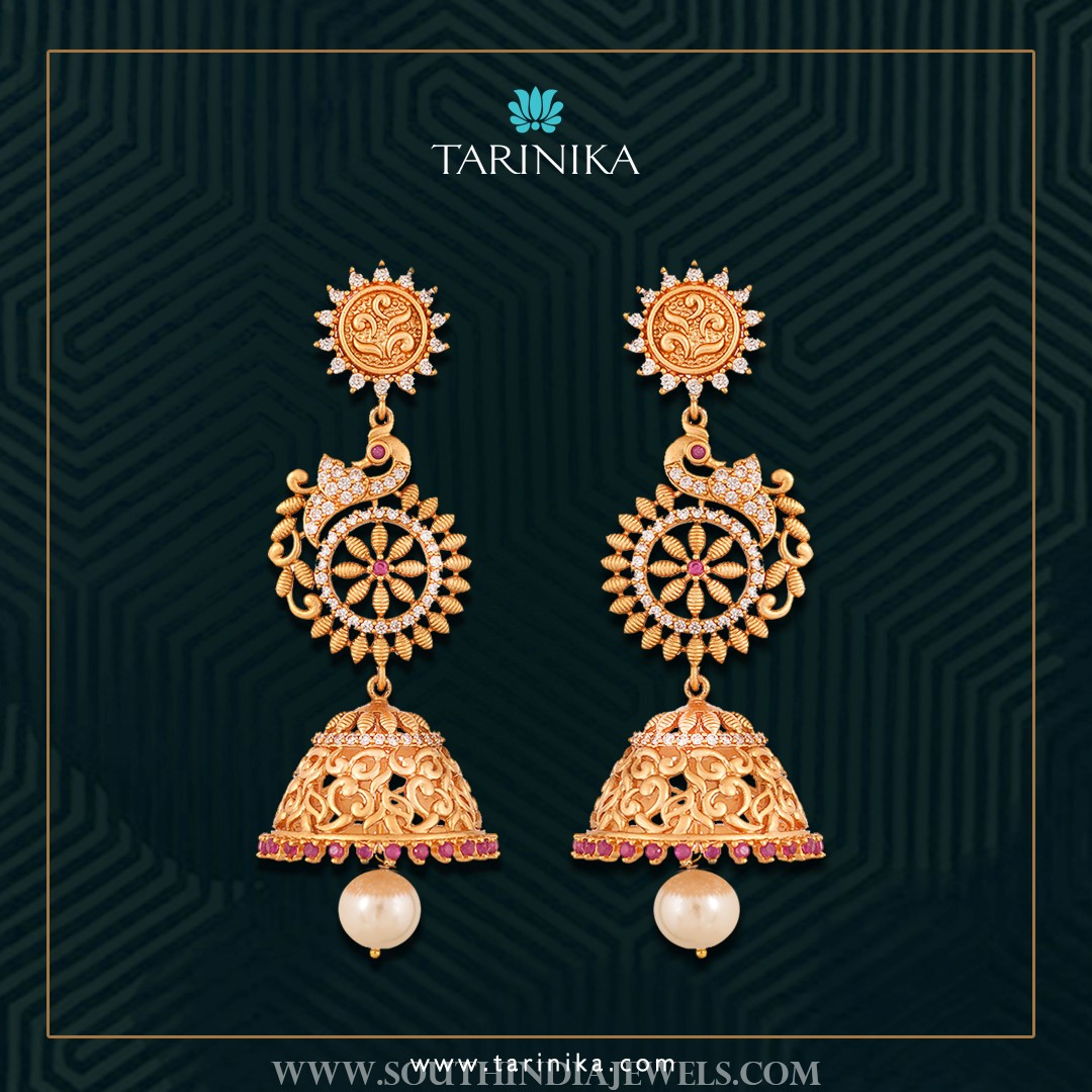 Gold Plated Step Jhumka
