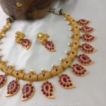 Ruby Mango Necklace Set From Rimli Boutique