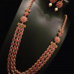 Multilayer Ruby Haram Set From Nakshatra