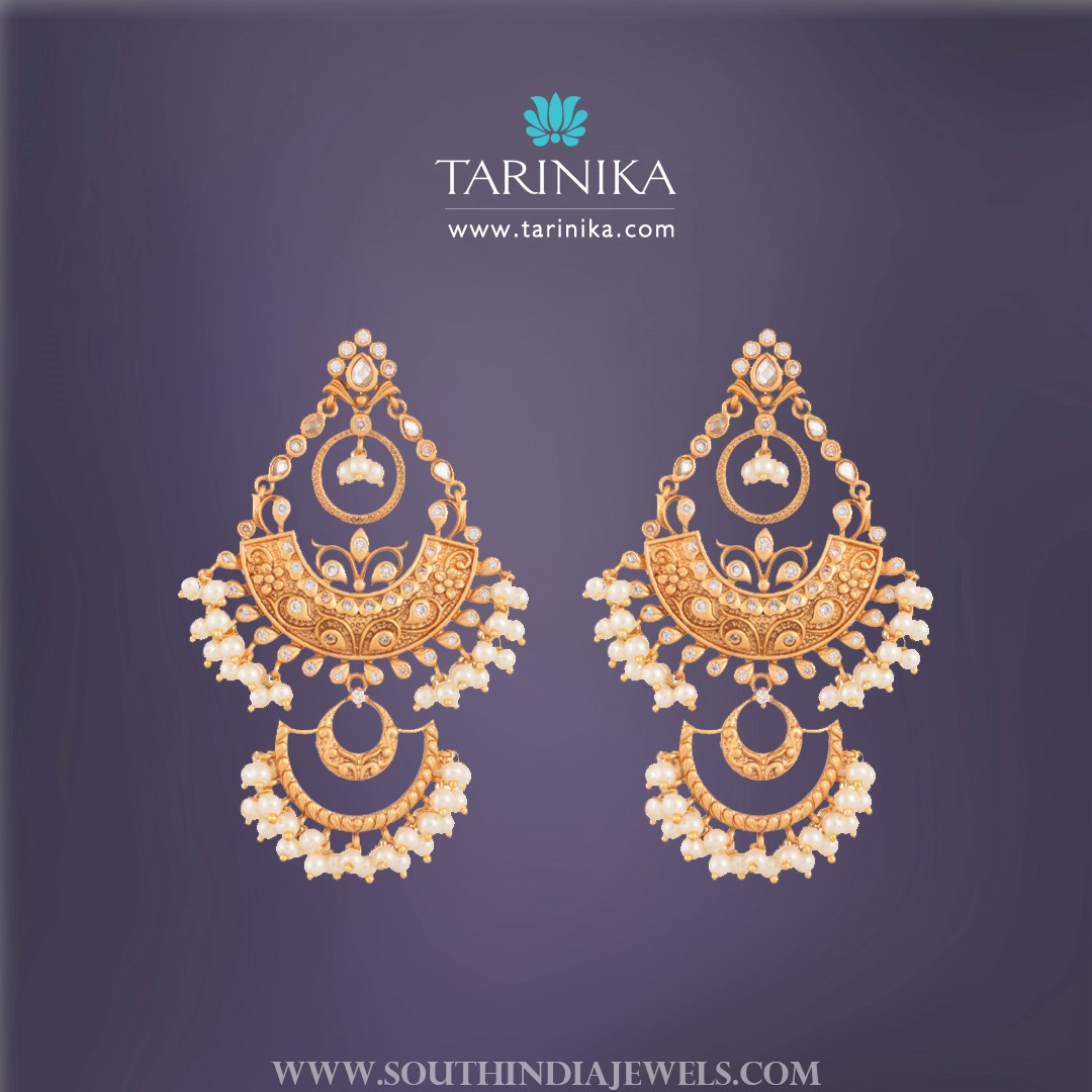 Pretty Pearl Earrings From Tarinika