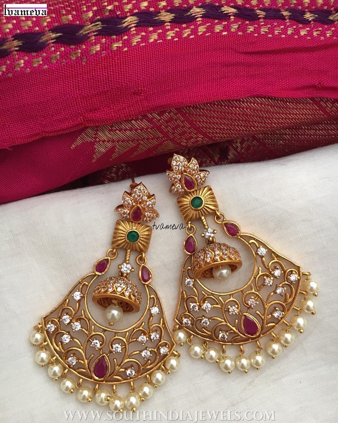 Pretty Designer Earrings From Tvameva