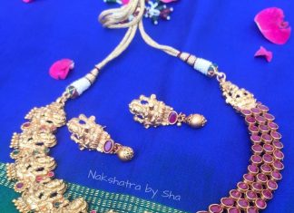 Temple Choker Set From Nakshatra
