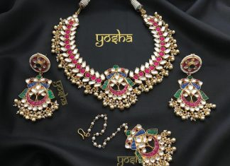 Imitation Antique Kundan Set