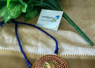 Thread Necklace With Kemp Pendant