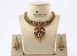 Antique Emerald Necklace From Prakruthi