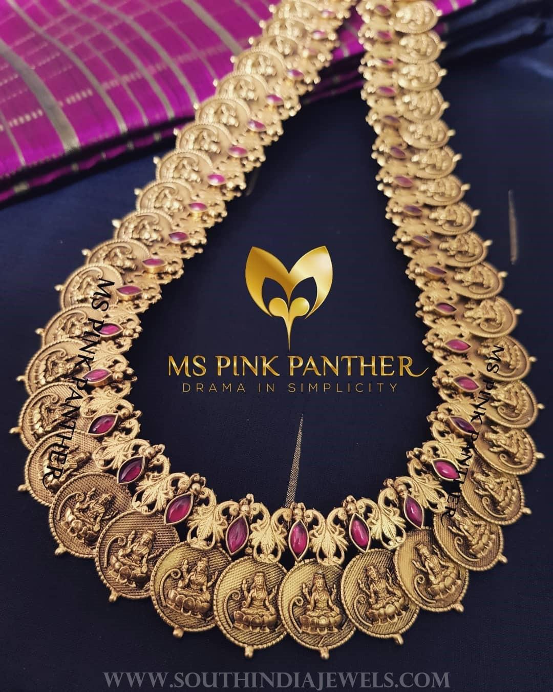 Antique Lakshmi Kasumalai From Ms Pink Panthers