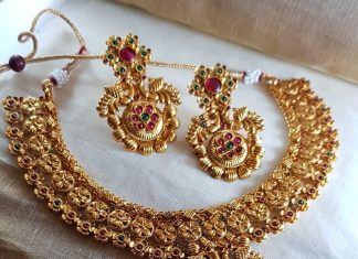 Pretty Antique Necklace Set From Vasah India