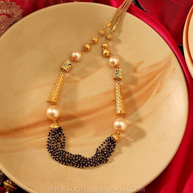 Designer Short Necklace From Manubhai Jewellers