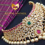 Grand Gold Plated Antique Choker From Ms Pink Panther