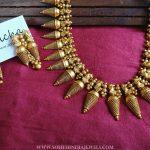 Imitation Spike Necklace Set From Anicha