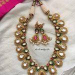 Kundan Short Necklace From Tvameva