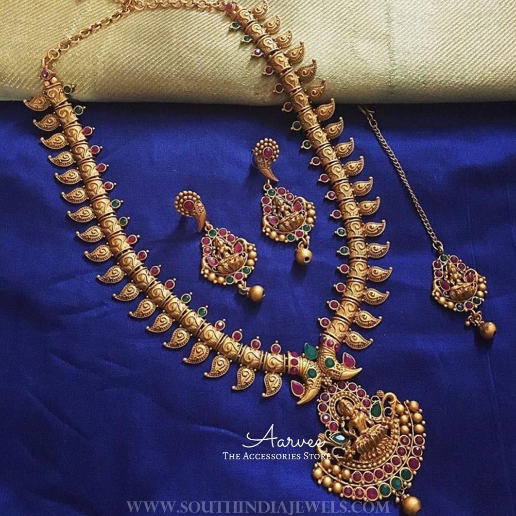 Imitation Lakshmi Haram Set From Arvee