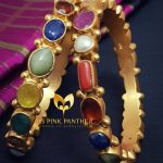 Gorgeous Navarathna Bangles From Ms Pink Panther