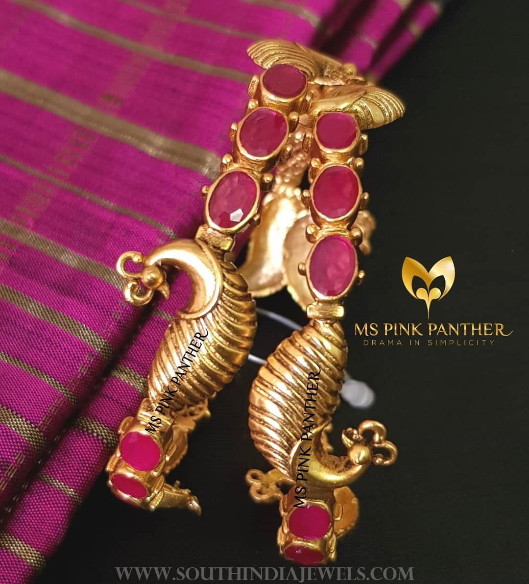 Ruby Peacock Bangle From Ms Pink Panthers