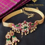 Short Antique Choker From Ms Pink Panthers