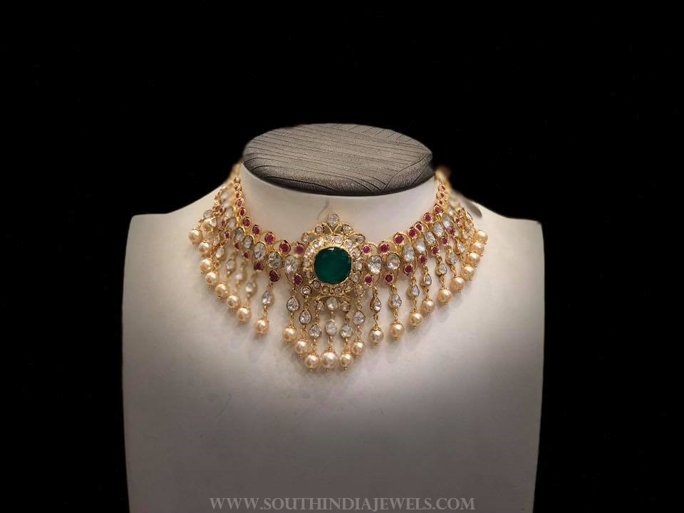 55 grams gold choker premraj