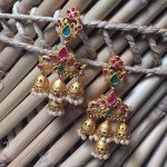 Bold Imitation Jhumka From Bead Chicz