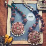 Bold Kemp Necklace From Aabharanam