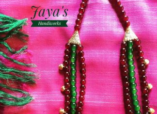 Colorful beaded jewellery jayashandiworks