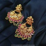 Gold Plated Silver Temple Earrings From Bcos Its Silver
