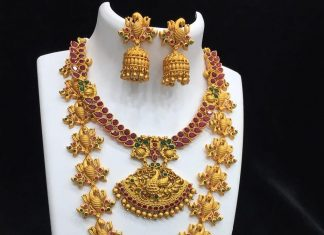 Latest One Gram Gold Jewellery Designs