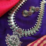 Pretty German Silver Haram Set From Emblish Coimbatore