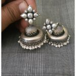 Pure Silver Plain Jhumka From Vasukikartik