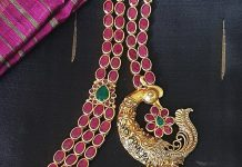 Traditional ruby multilayer haram ms pink panthers