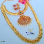 One Gram Gold Coin Jewellery From Vibha Creations