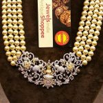 Pearl Diamond Haram Set From Jewels Indian Antique Shopee