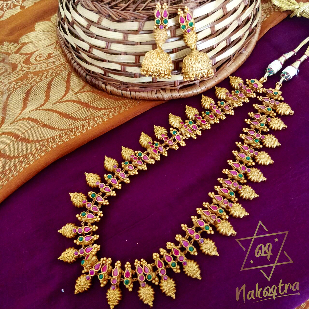 Baahubali style haaram and necklace Nakshatra by sha