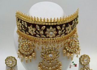 Bridal Choker Set From Dhruvam