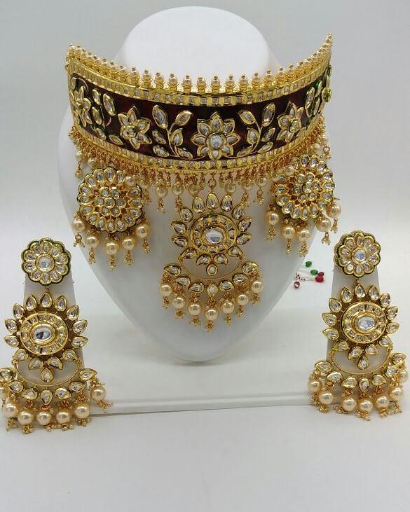 Bridal Choker Set From Dhruvam