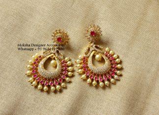 Designer earrings Moksha Designer Accessories