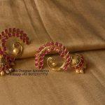 Earrings With Jumkhi Hangings From Moksha Designer Accessories